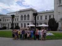 Коллективная экскурсия сотрудников - членов профсоюза в Ливадийский дворец