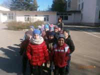 Экскурсия старших ребят в школу