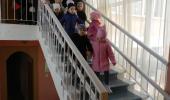 В «Веснянке» учебная эвакуация