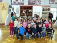 Экскурсия в этнографический музей подготовительной  группы № 6 «Скворушка»