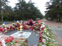 Возложение цветов к «Вечному огню» ребятами старших групп